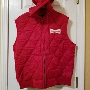 Budweiser Men's Hooded Vest